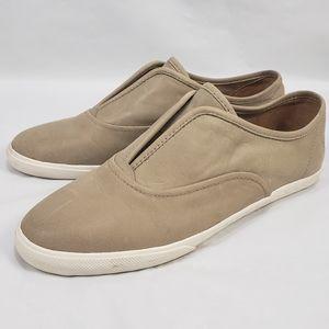 New FRYE Maya leather slip on shoes